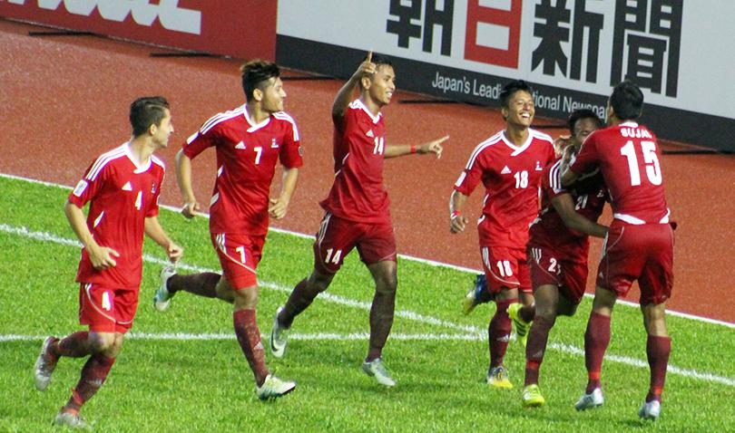नेपालले एसियन कप छनोट फुटबल खेल्न पाउने