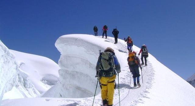 नेपालमा पहिलो पटक पर्बतारोहण अध्यायन
