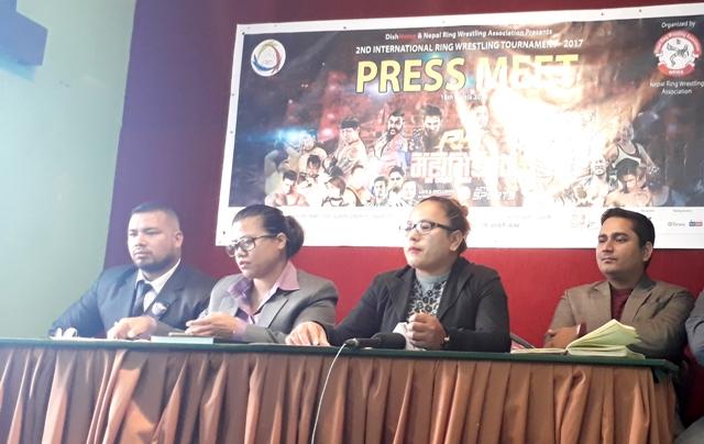 डिशहोम र नेपाल रिंग रेस्लिङ संघको संयुक्त आयोजनामा दोस्रो अन्र्तराष्ट्रिय रिंग रेस्लिङ प्रतियोगिता हुने