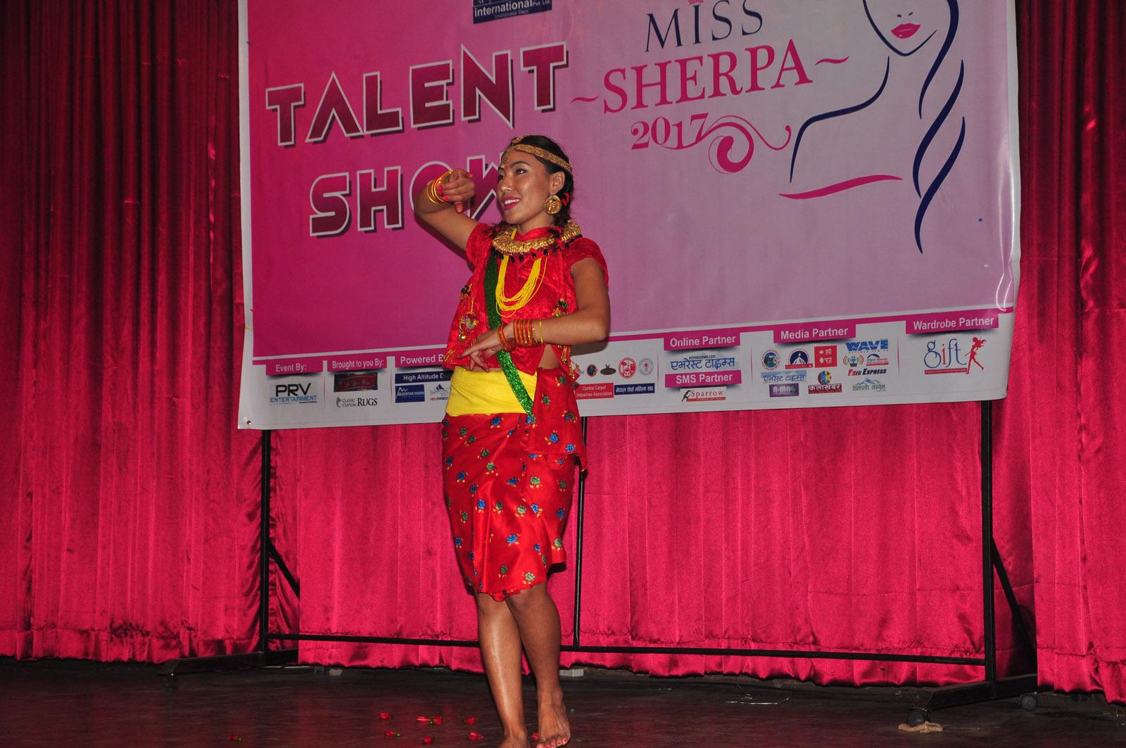 मिस शेर्पा २०१७ को पहिलो चरण सम्पन्न