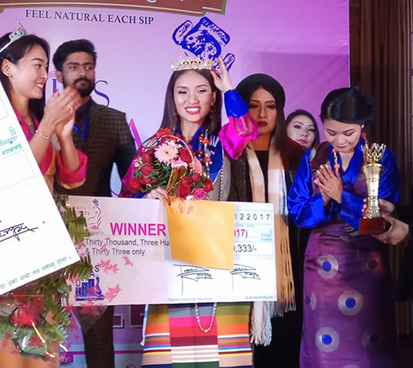 मिस शेर्पा २०१७ को विजेता सोनाम डोल्मा लामा शेर्पा