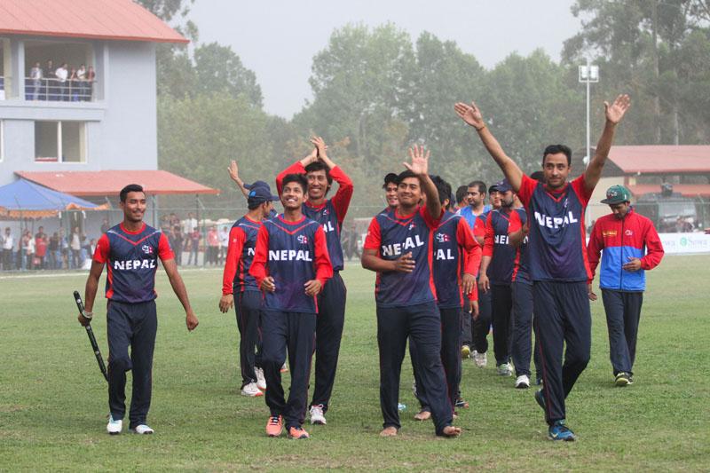 आईसीसी विश्व क्रिकेट लिग डिभिजन २ मा नेपाली बालरहरुको हावी