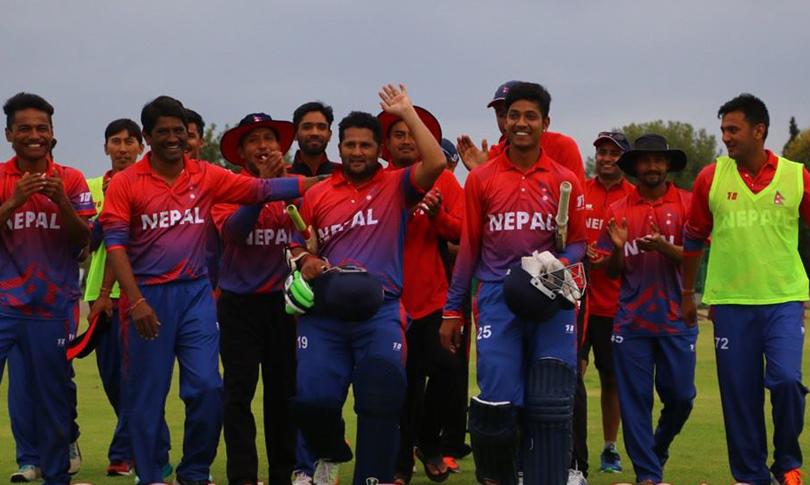 नेपाली क्रिकेट टोलीका सदस्यलाई जनही ३ लाख दिने प्रधानमन्त्रीको घोषणा