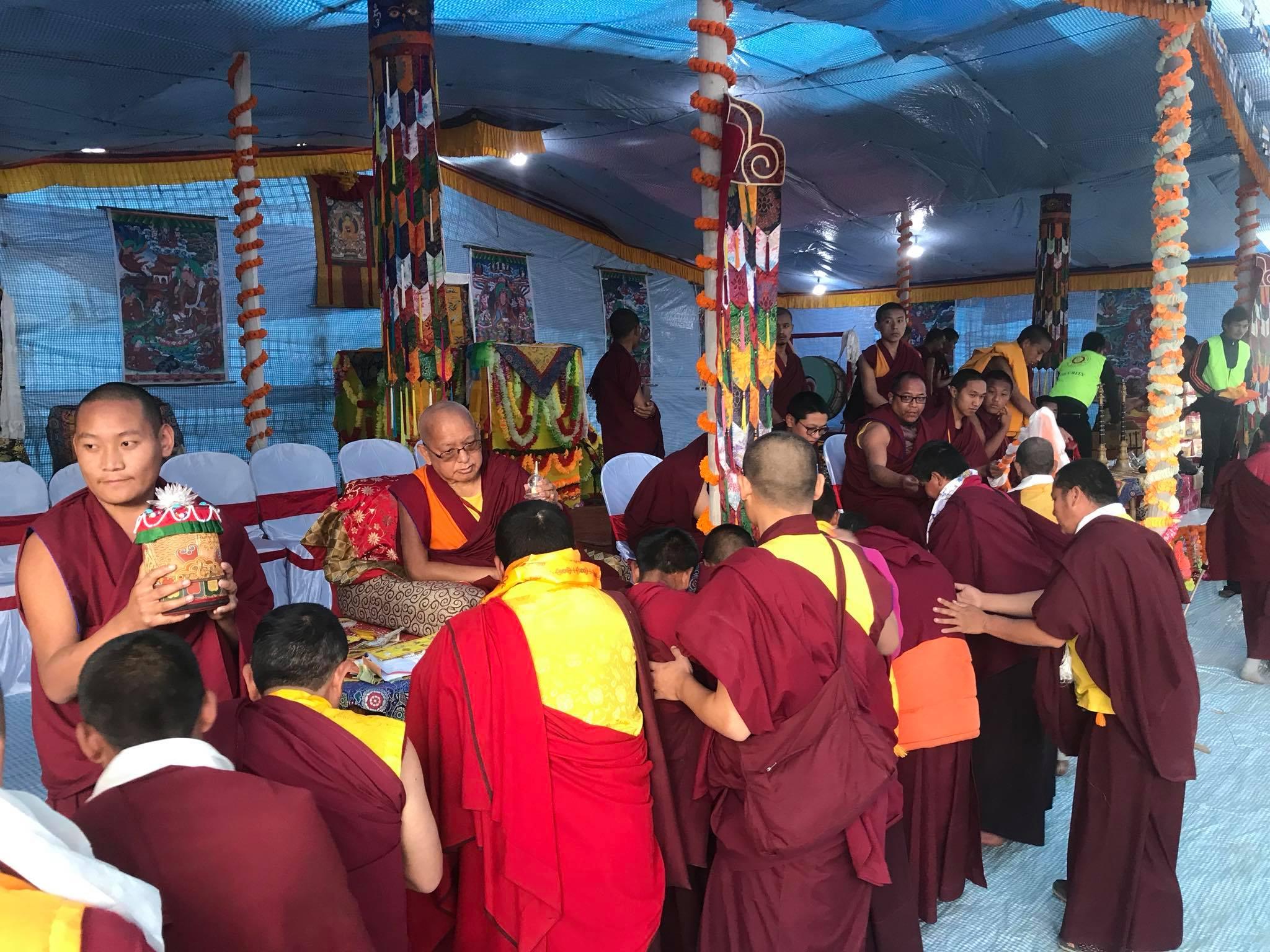 बौद्ध धर्मको प्रवचन सहित सकियो बज्रगुरु - तस्बीर सहित