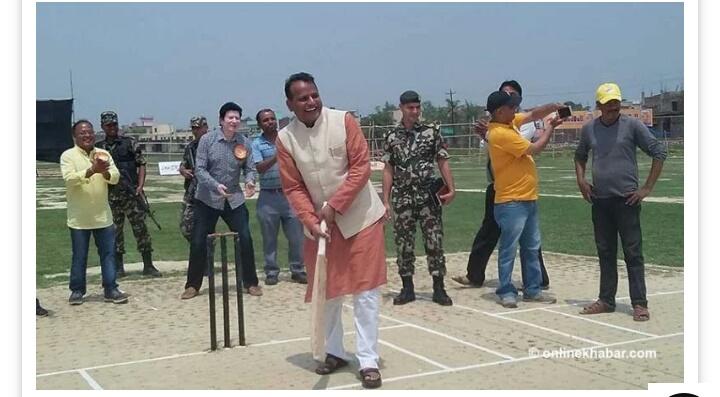 प्रदेश २ मा अन्तर्राष्ट्रिय क्रिकेट मैदान बनाउने मुख्यमन्त्री राउतको घोषणा