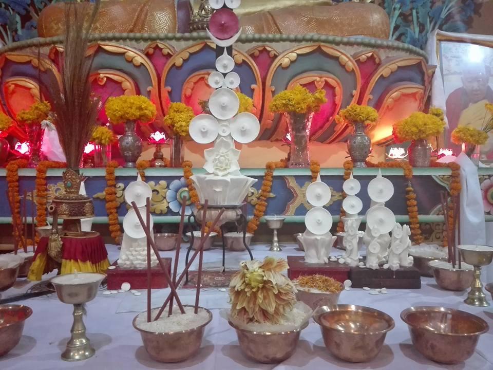 सागा दावामा शेर्पा गोन्पामा ञ्युङने व्रत सम्पन्न