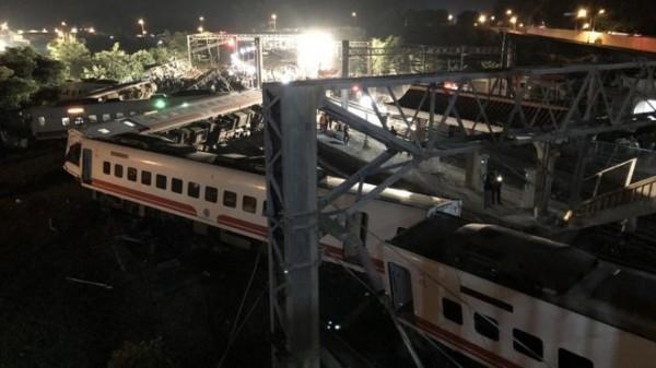 ताइवानमा रेल दुर्घटना १८ जनाको मृत्यु १७० जना घाइते