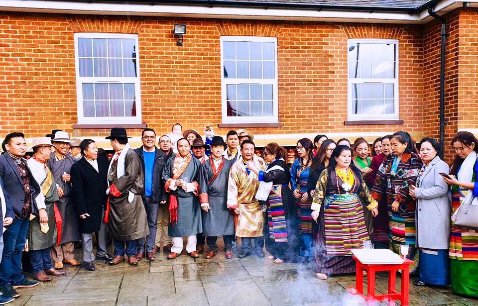 शेर्पा संघ बेलायतको आयोजनामा 'ल्हाप्सो पूजा'