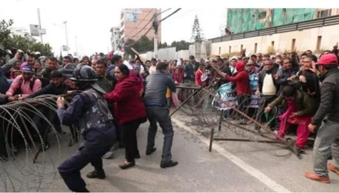 शिक्षकमाथि लाठी वर्षाउनु सरकारको लाचारी होः खेम अधिकारी, अध्यक्ष नेपाल राहात शिक्षक समिति