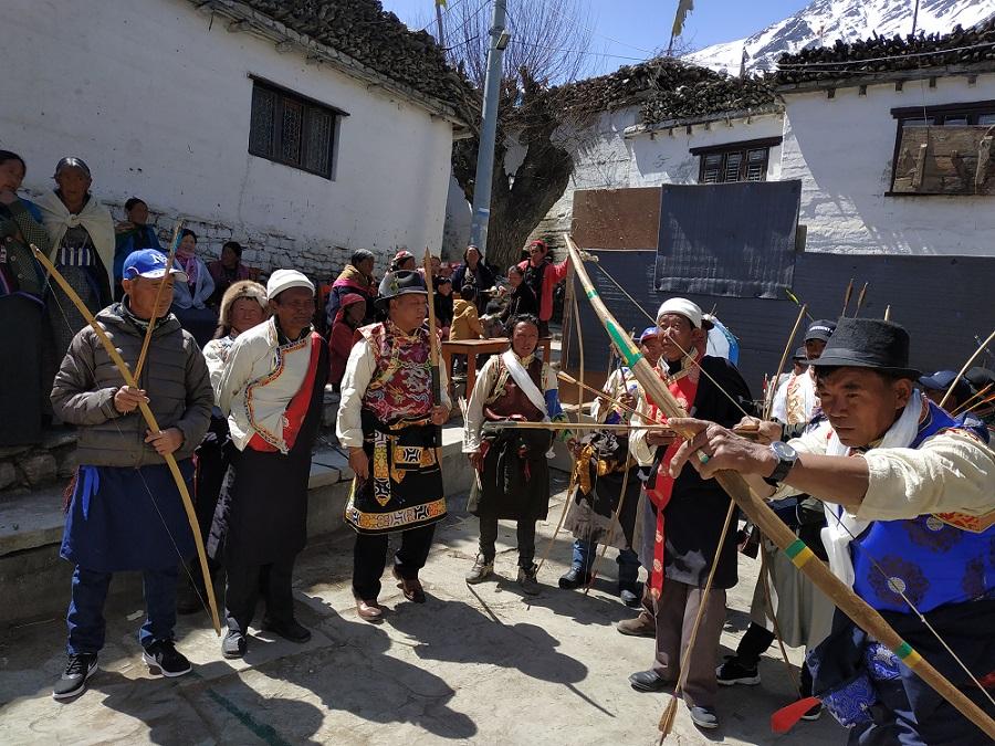 हिमाली जिल्ला मुक्तिनाथमा मनाउने 'धज्याङ' पर्व तस्बिरमा
