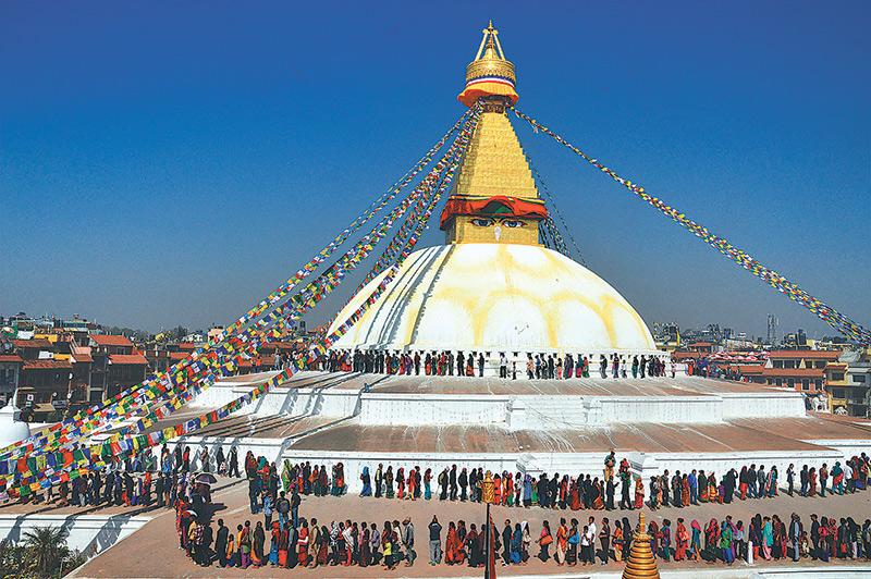 बौद्ध तेमाल जात्रा शुरू