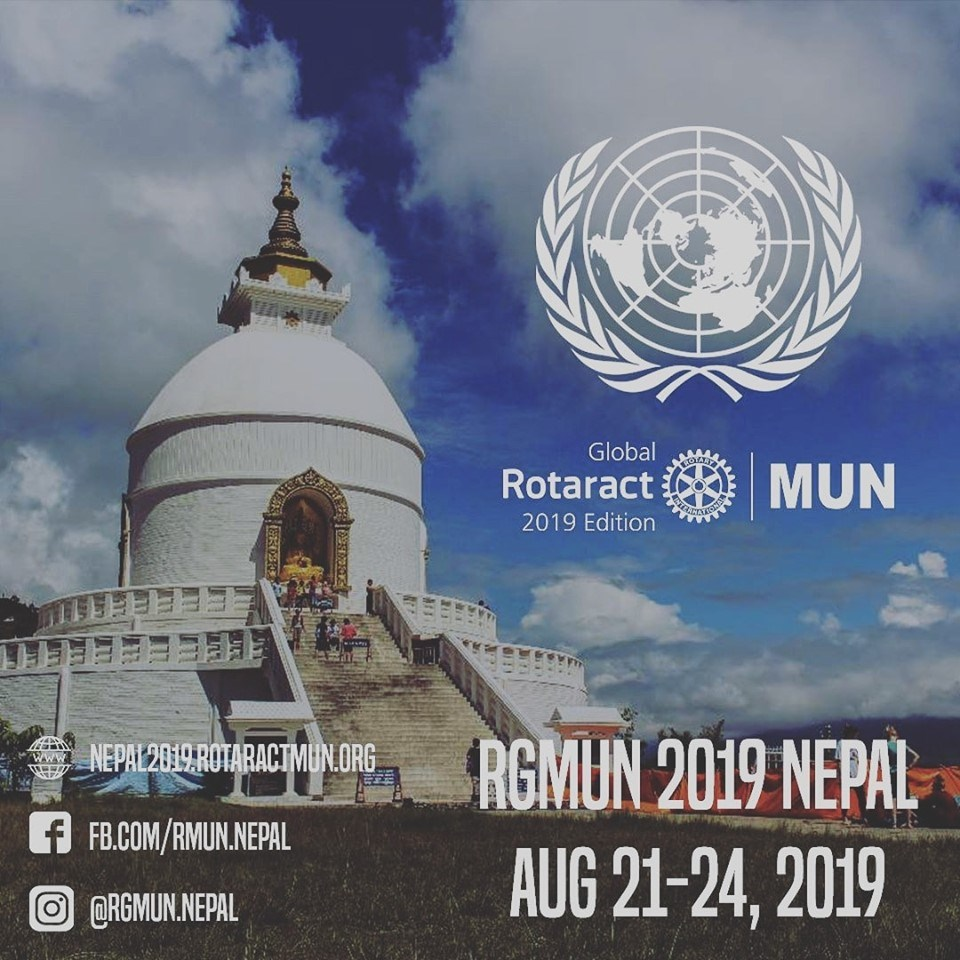 Rotaract Global Model United Nations – Nepal-2019