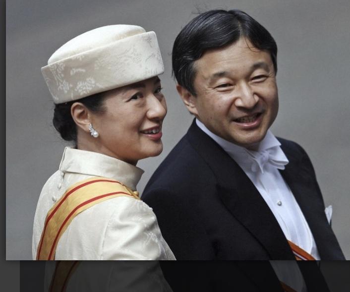 आज जापानी सम्राट्को गद्दी आरोहण समारोह