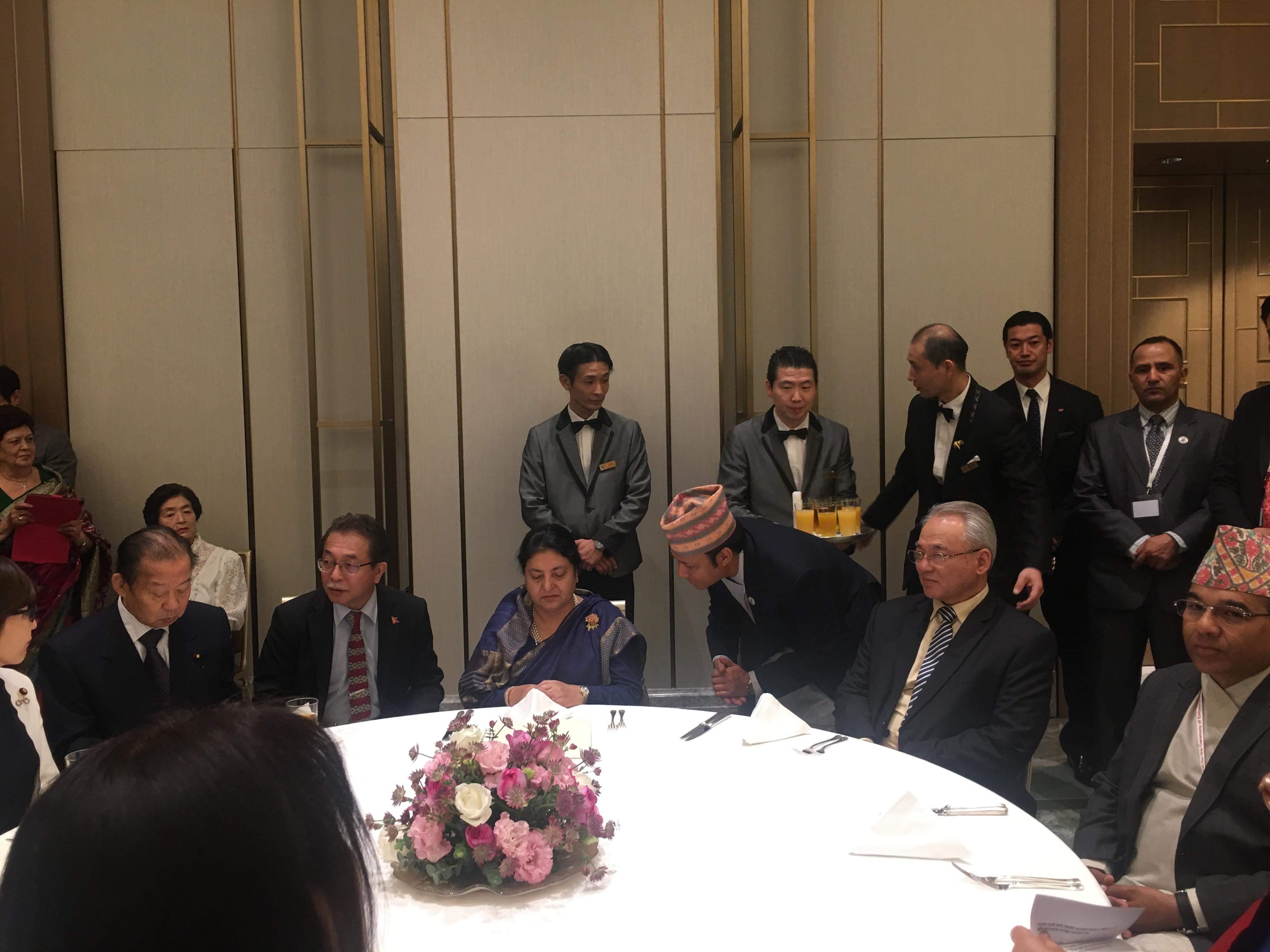 जापान विकासको प्रमुख साझेदार : राष्ट्रपति भण्डारी
