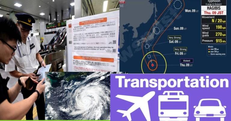 जापानमा  विध्वंसक ताइफु आउदै ,सुरक्षा अप्नाउन आग्रह(भिडियाे सहित )