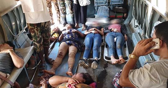 सिन्धुपाल्चोक बस दुर्घटना : मृत्यु हुनेको संख्या ११ पुग्यो