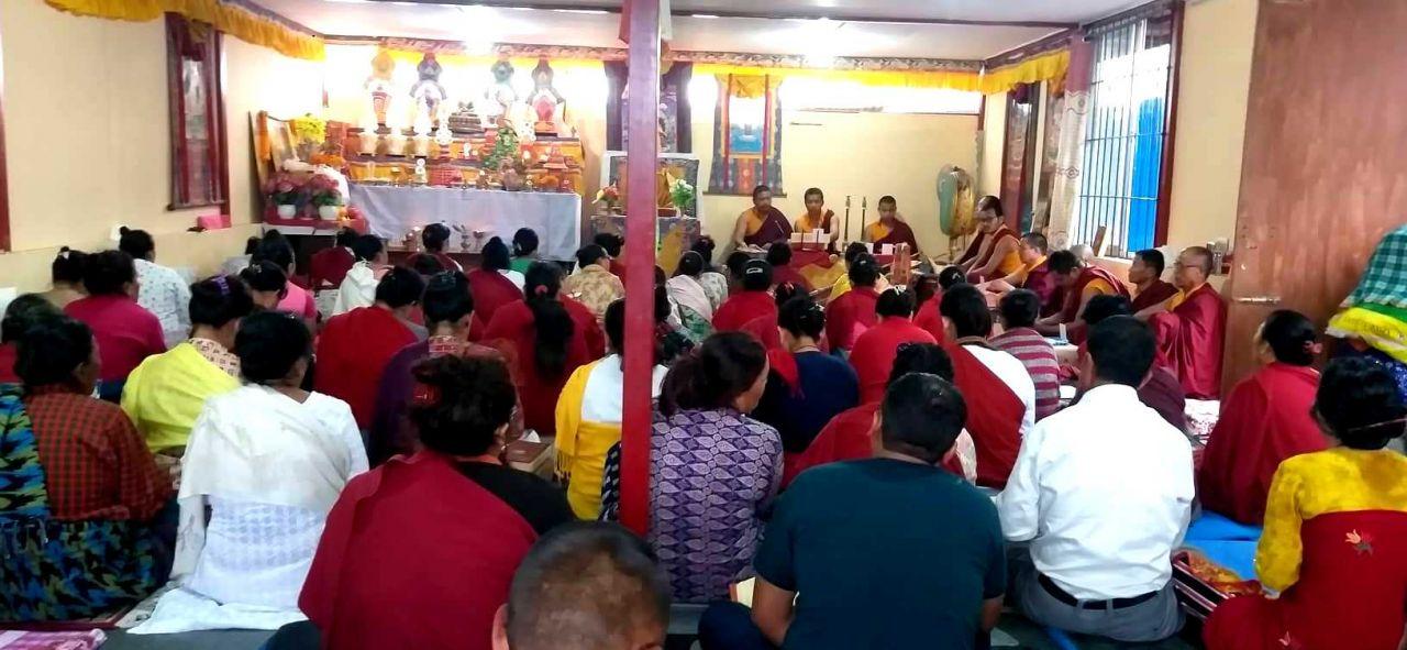 दशैँमा वली दिइएको प्राणिको आत्मा शान्तिको  लागि बौद्धमा ञ्युङने