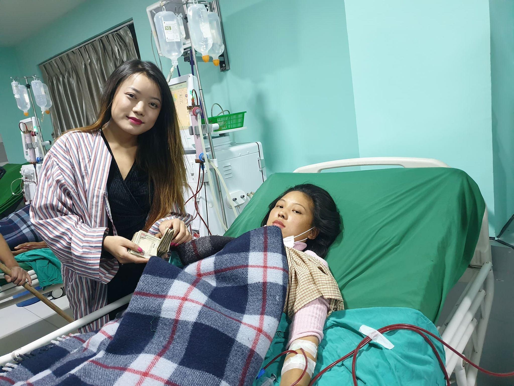 मिस मंगोल शेर्पाको अपिल, तपाईंको सानो सहयोगले नयाँ  जीवन पाउने छ