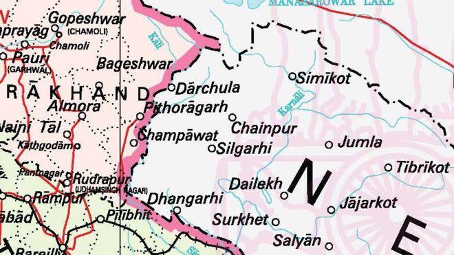 कालापानी आफ्नो नक्सामा पारेपछि भारत भन्छ, '७० वर्षदेखि चलेको सीमा'