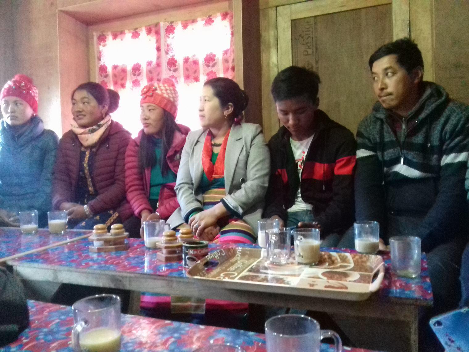 शेर्पा संघ ओखलढुंगाले प्रदेश स्तरिय लोसार कार्यक्रम गर्दै