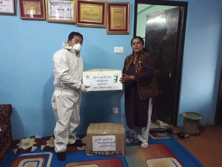 जनजाति महासंघ द.कोरियाले काेराेना उपचारका लागि सहयोग