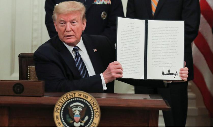 कोरोना भाइरस चिनियाँ प्रयोगशालाबाटै फैलिएको हो ः अमेरिकी राष्ट्रपति