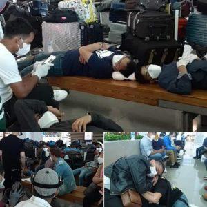कोरियाबाट चार्टर विमानमा नेपाल जान लागेका ३८ यात्रु इन्छन विमानस्थलमै रोकिए