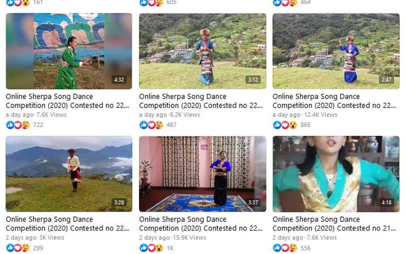 शेर्पा इभेन्ट अर्गनाइजरद्धारा आयेजित नृत्य प्रतियोगितामा विश्वभर बाट उत्साहजनक सहभागी