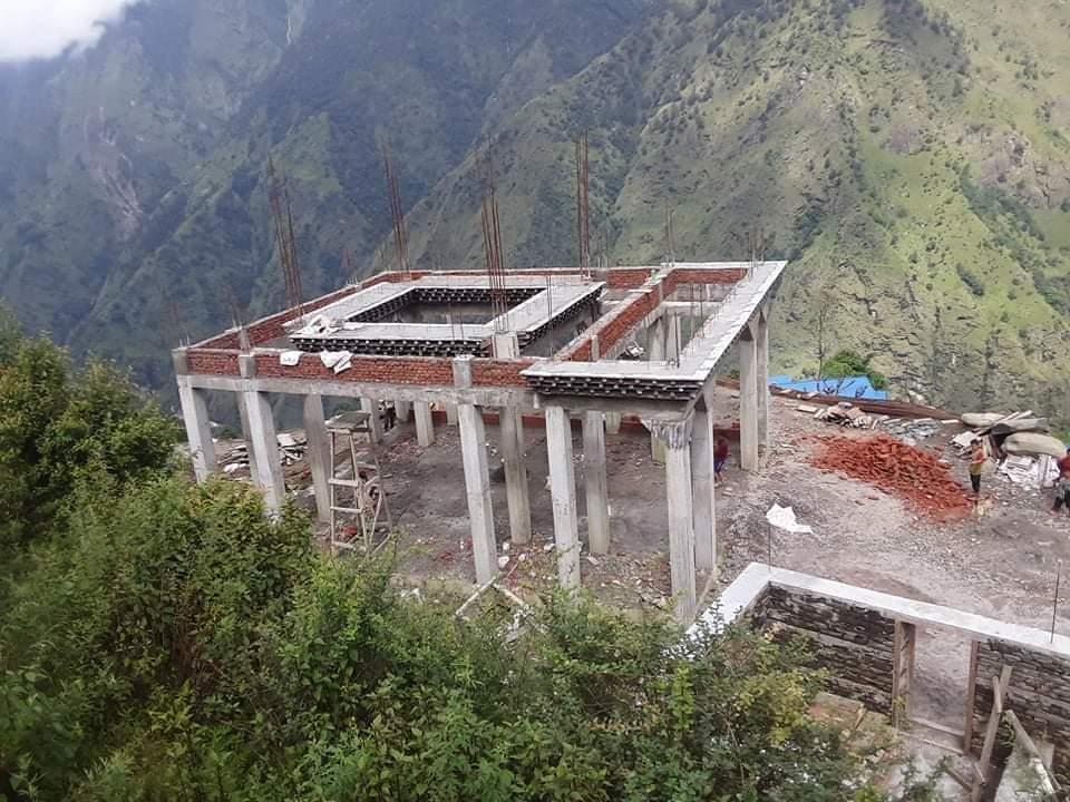 गौरीशंकर गाउँपालिकामा निर्माणधिन गुम्बाका लागि न्युयोर्कबाट सहयोग ।