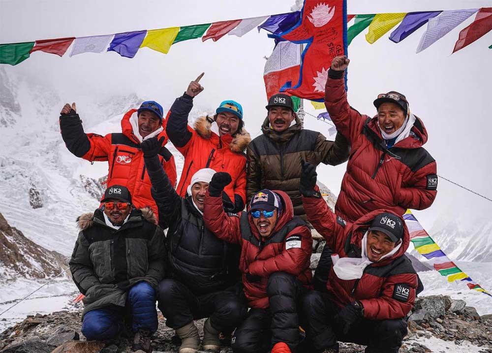 विश्वको दोस्रो अग्लो हिमाल केटूमा नेपाली पर्वतारोहीको कीर्तिमान