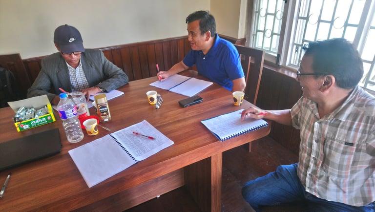 शेर्पा भाषा एपका लागि भाषा प्रमाणिकरण गर्ने काम सुरु